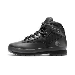 Men's Euro Hiker Leather and Fabric Mid Boots